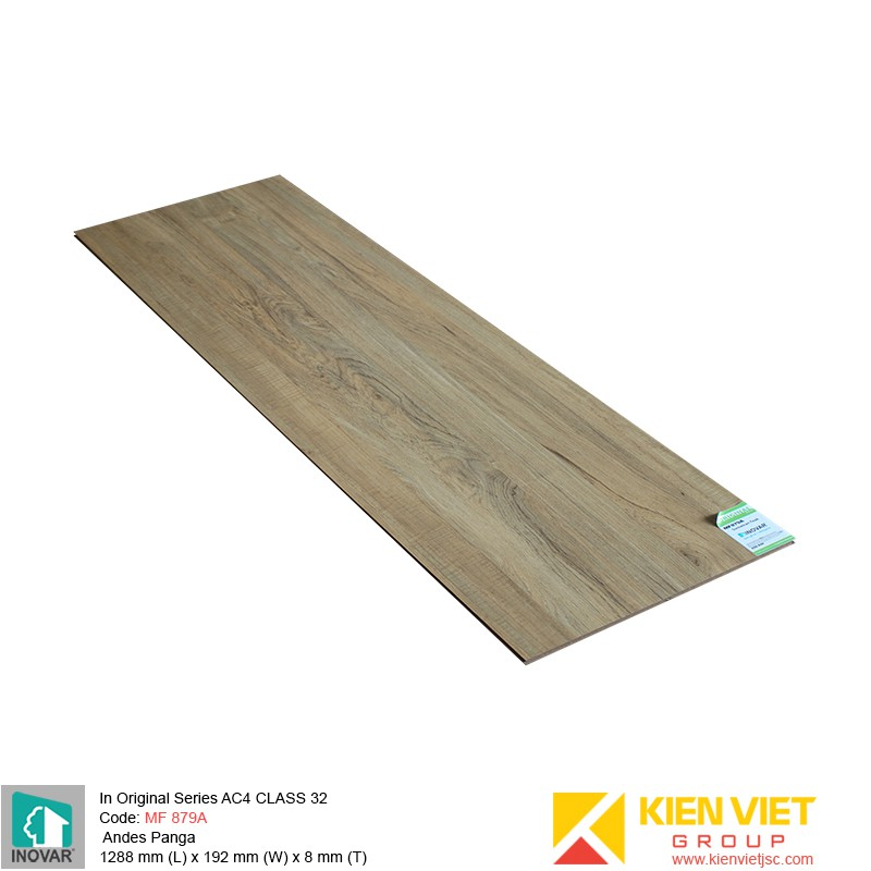 Sàn gỗ Inovar Original Series MF879A New Sumatran Teak | 8mm