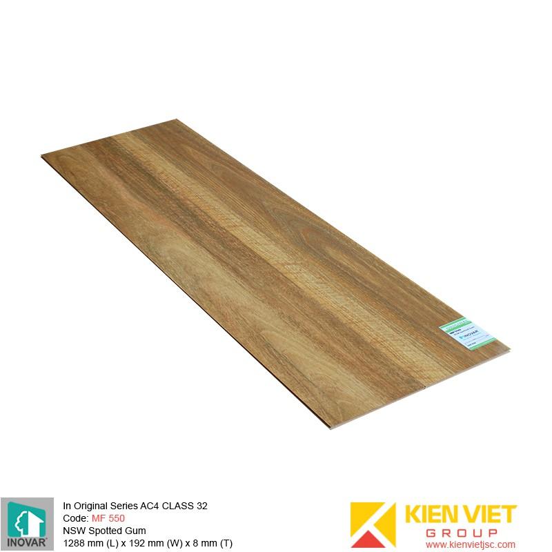 Sàn gỗ Inovar Original Series MF550 NSW Spotted Gum | 8mm