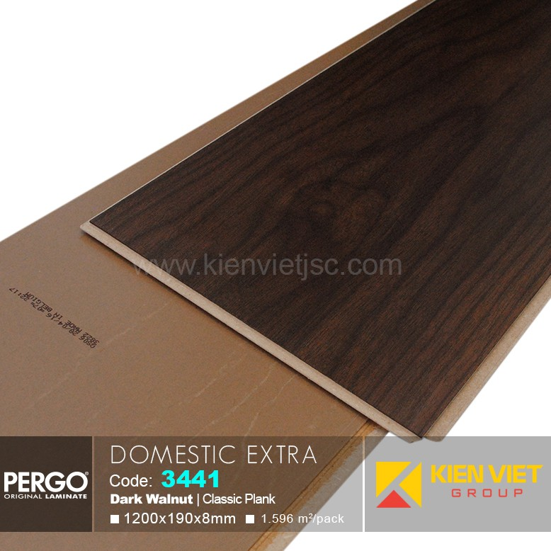Sàn gỗ Pergo Domestic Extra 3441   8mm