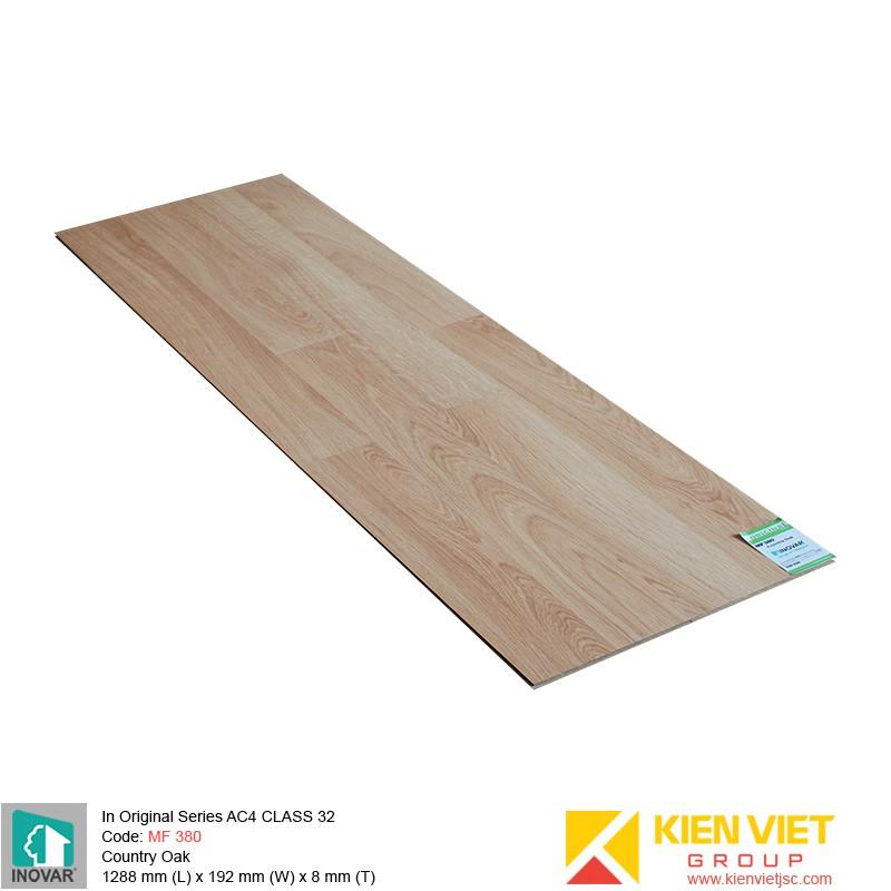 Sàn gỗ Inovar Original Series MF380 Country Oak | 8mm