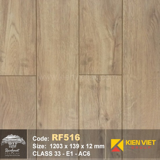 Sàn gỗ Rainforest RF516 AC6 | 12mm