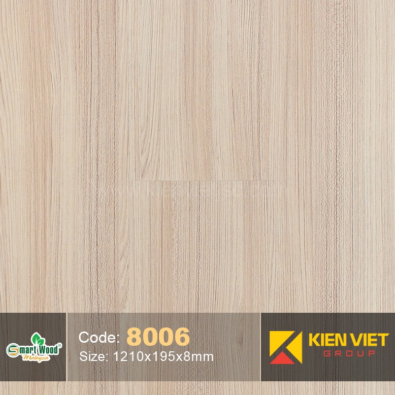 Sàn gỗ Smartwood AC3 8006 | 8mm