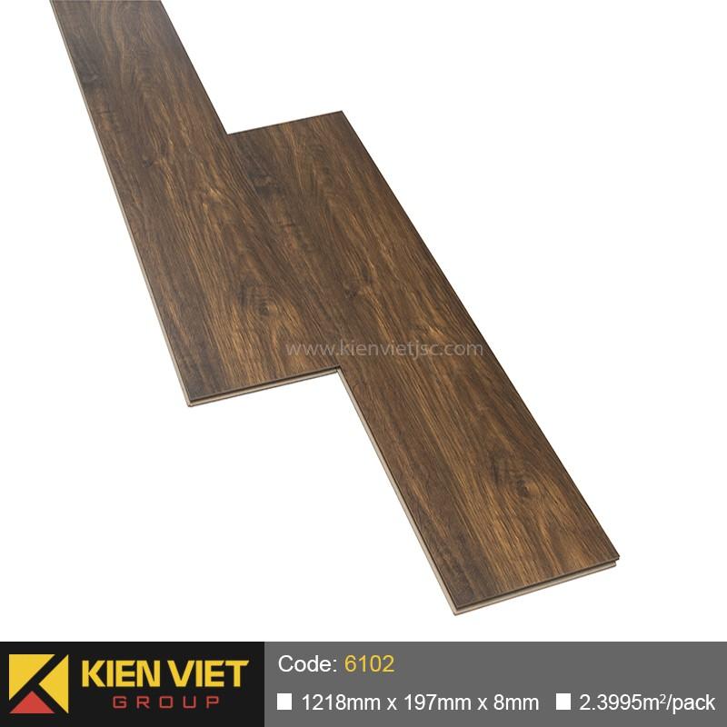 Sàn gỗ công nghiệp thanh lý F8 6102 | 8mm
