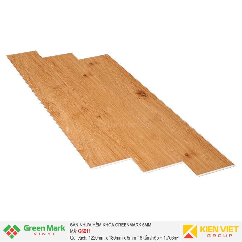 Sàn nhựa hèm khóa Green Mark G6011 | 6mm