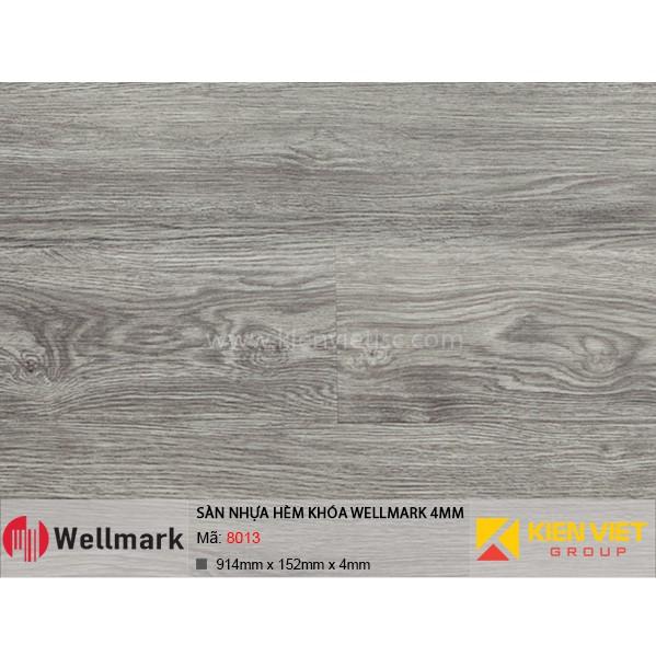 Sàn nhựa hèm khóa WELLMARK 8013 | 4mm