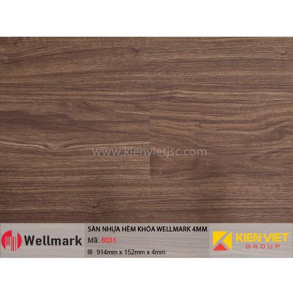 Sàn nhựa hèm khóa WELLMARK 8031 | 4mm