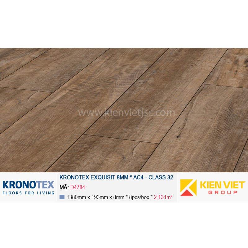 Sàn gỗ Kronotex Exquisit D4784 Gala Oak brown | 8mm