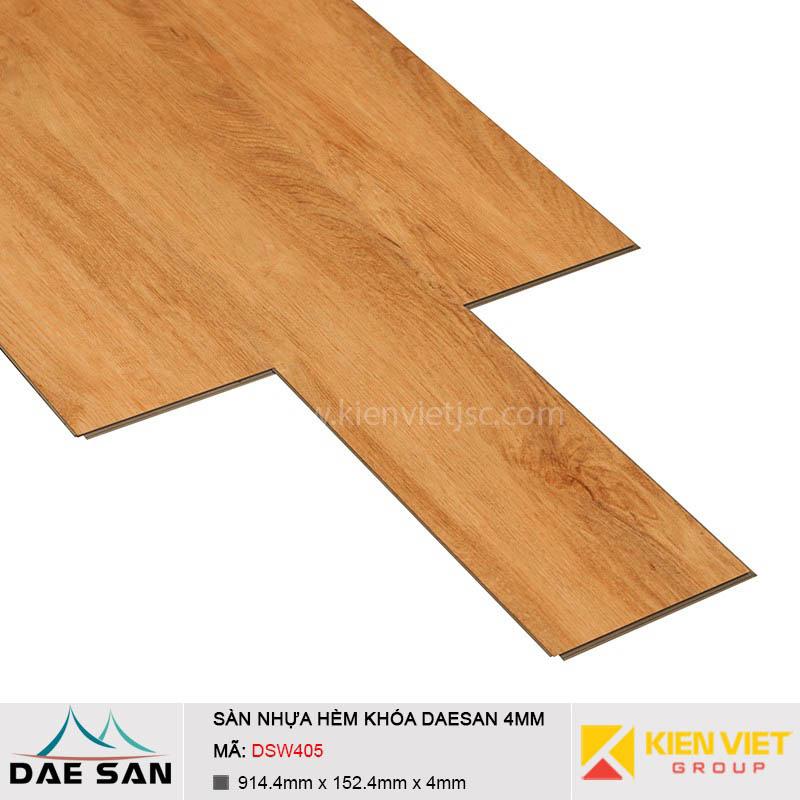 Sàn nhựa hèm khoá Daesan DSW405 | 4mm