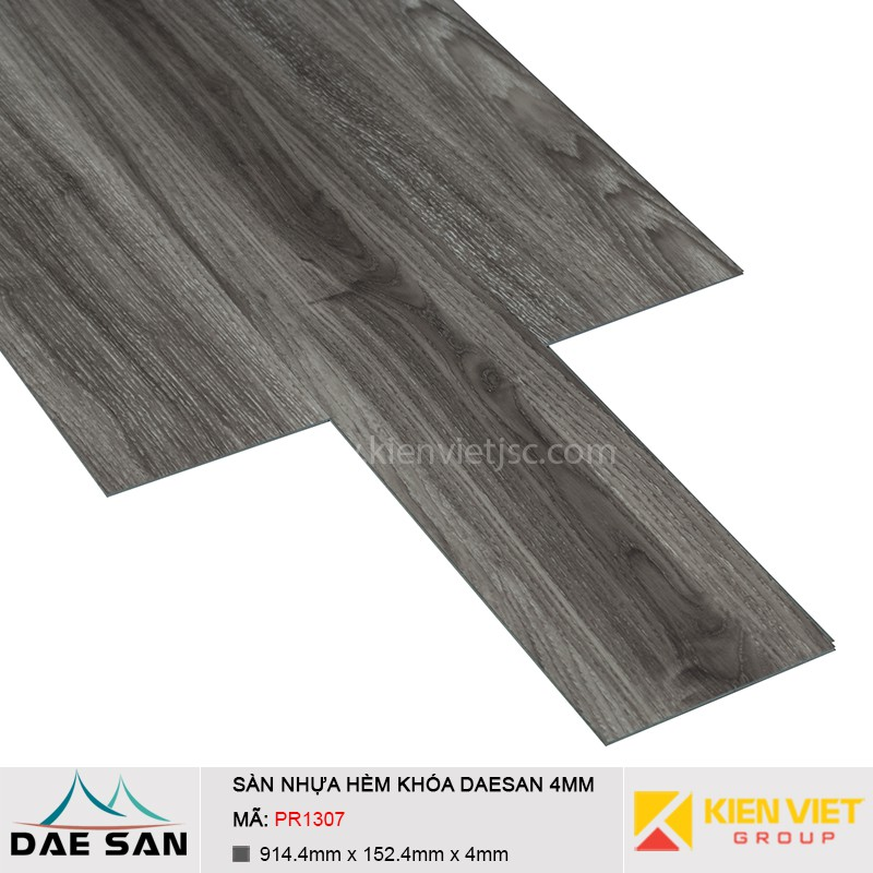 Sàn nhựa hèm khoá Daesan PR307 | 4mm
