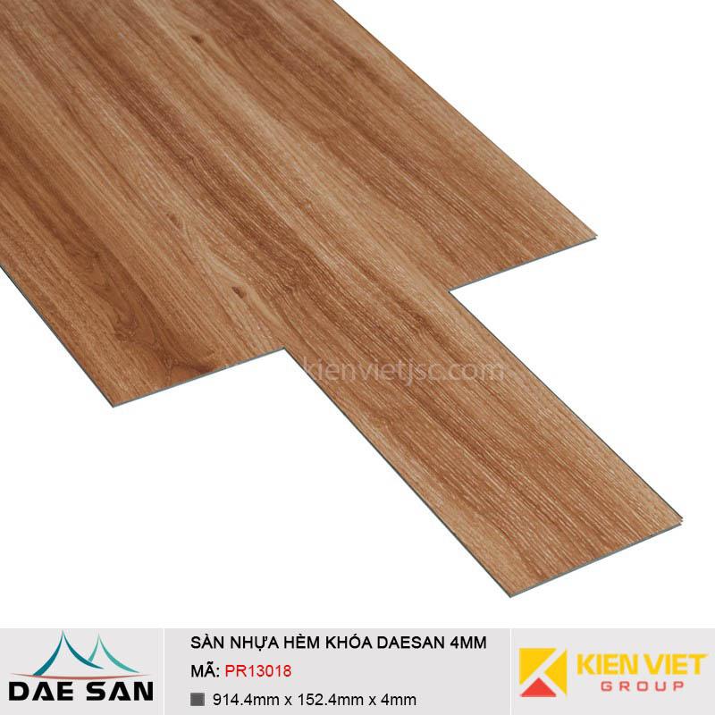 Sàn nhựa hèm khoá Daesan PR13018 | 4mm