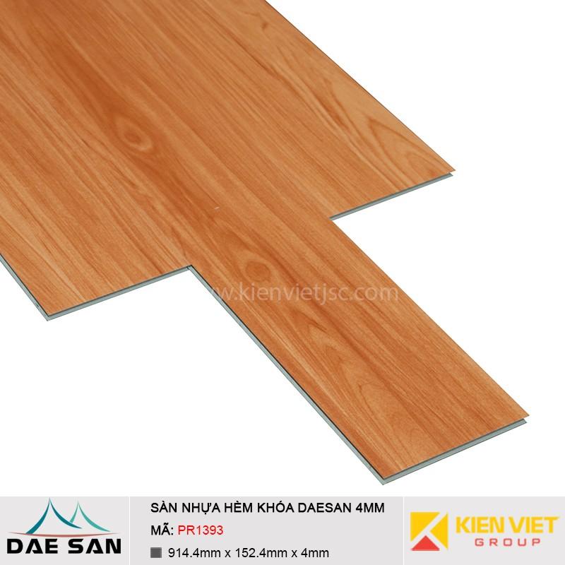 Sàn nhựa hèm khoá Daesan PR1393 | 4mm