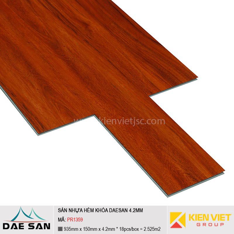 Sàn nhựa hèm khoá Daesan PR1359 | 4.2mm