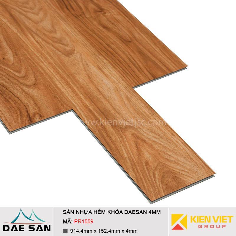Sàn nhựa hèm khoá Daesan PR1559 | 4mm