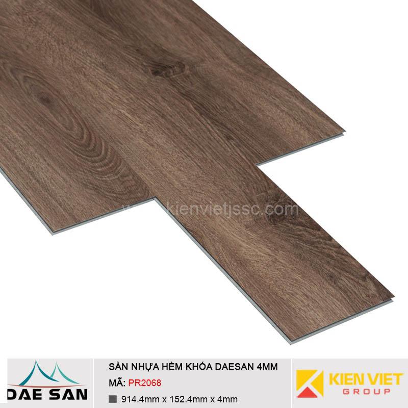 Sàn nhựa hèm khoá Daesan PR2068 | 4mm