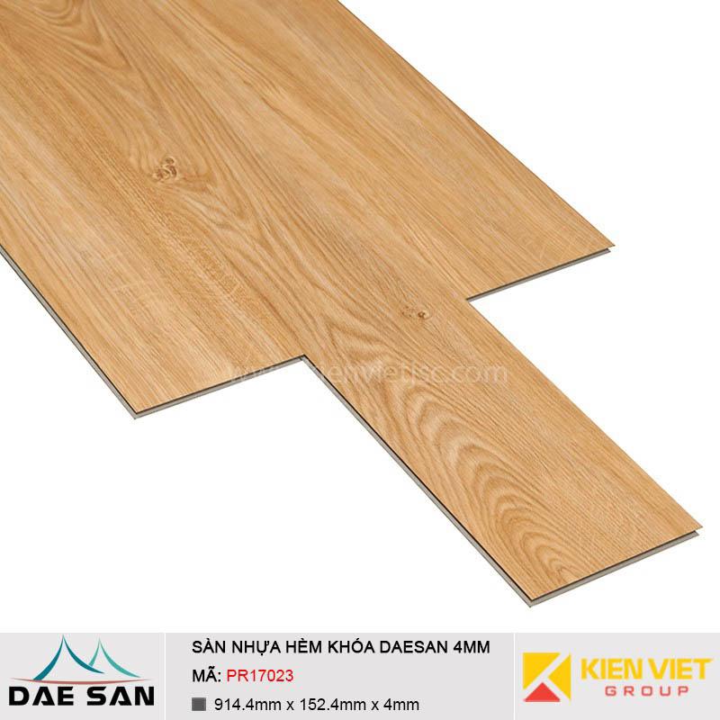 Sàn nhựa hèm khoá Daesan PR17023 | 4mm