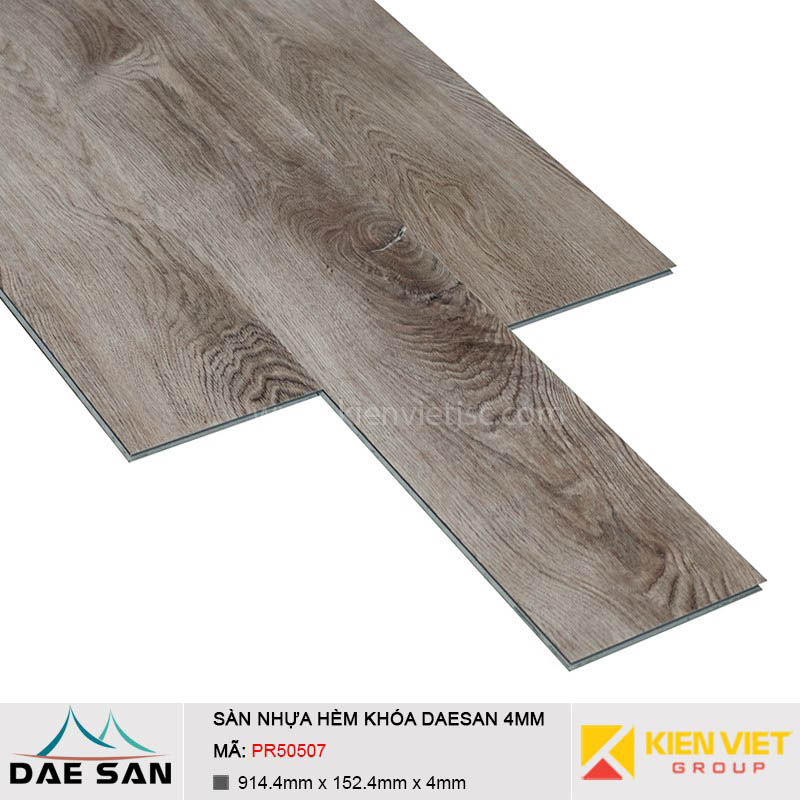 Sàn nhựa hèm khoá Daesan PR30507 | 4mm