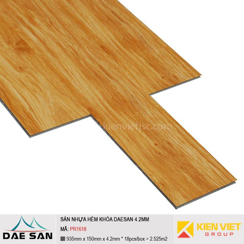 Sàn nhựa hèm khoá Daesan PR1618 | 4.2mm