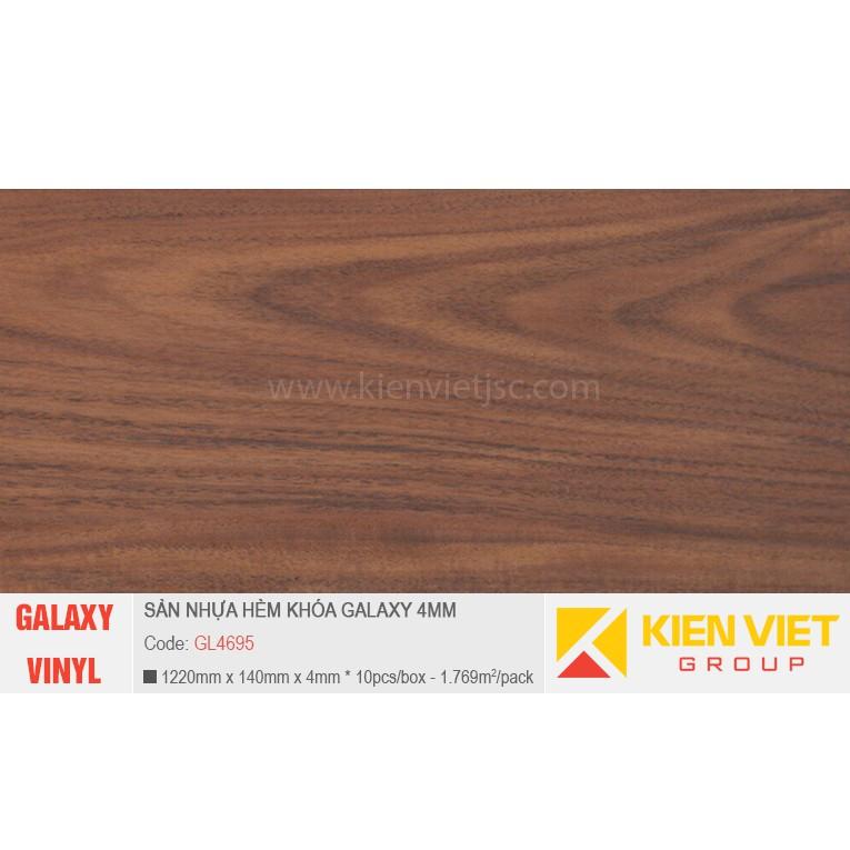 Sàn nhựa hèm khóa Galaxy GL4695 | 4mm