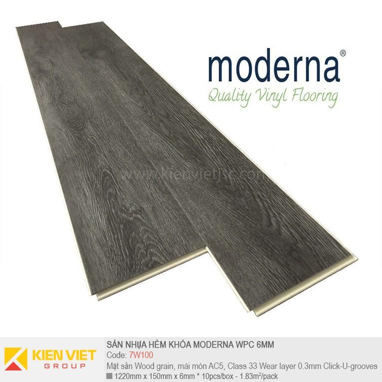 Sàn nhựa hèm khóa Moderna 7W100 | 6,5mm