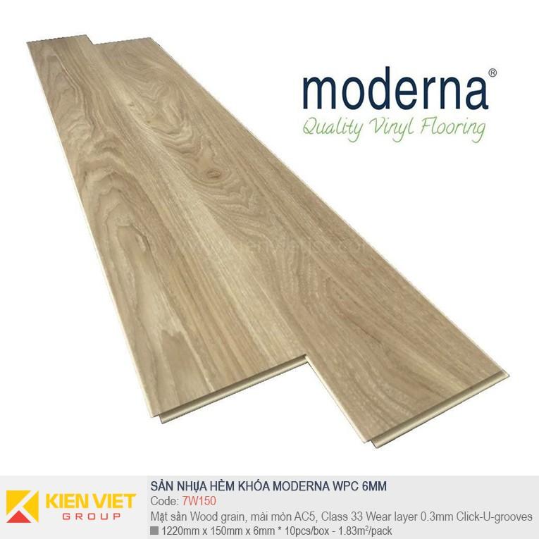 Sàn nhựa hèm khóa Moderna 7W150 | 6,5mm