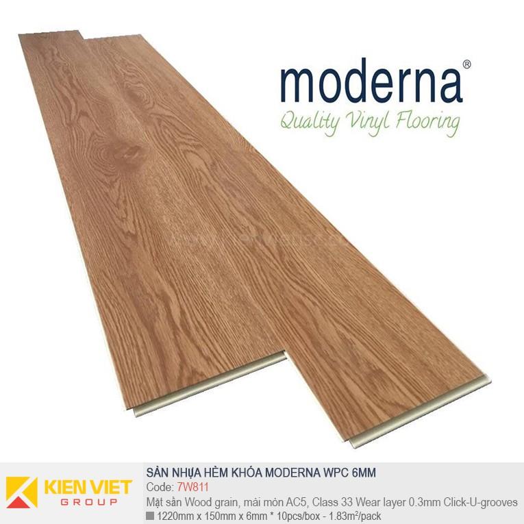 Sàn nhựa hèm khóa Moderna 7W811 | 6,5mm
