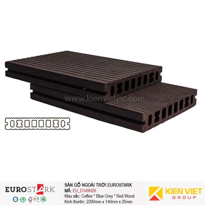 Sàn gỗ ngoài trời EuroStark EU-D145H25