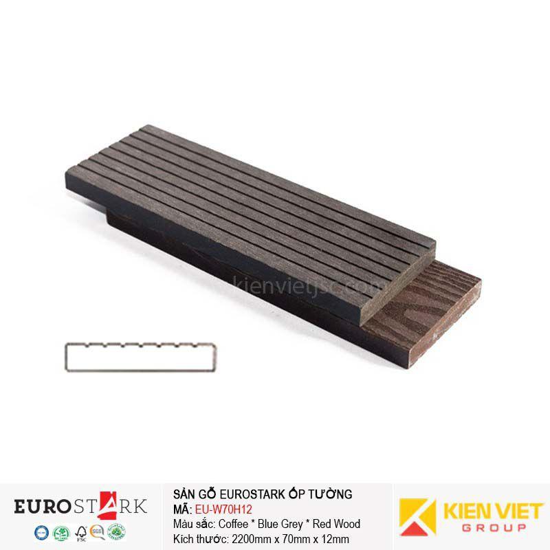 Sàn gỗ ngoài trời thanh đa năng EuroStark EU-W70H12