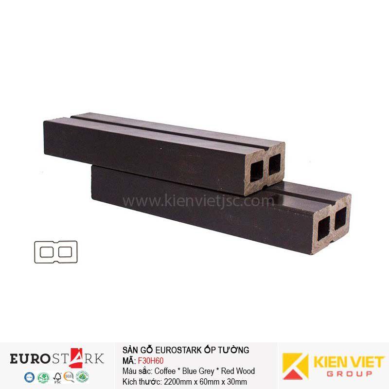 Sàn gỗ ngoài trời thanh xương EuroStark F30H60