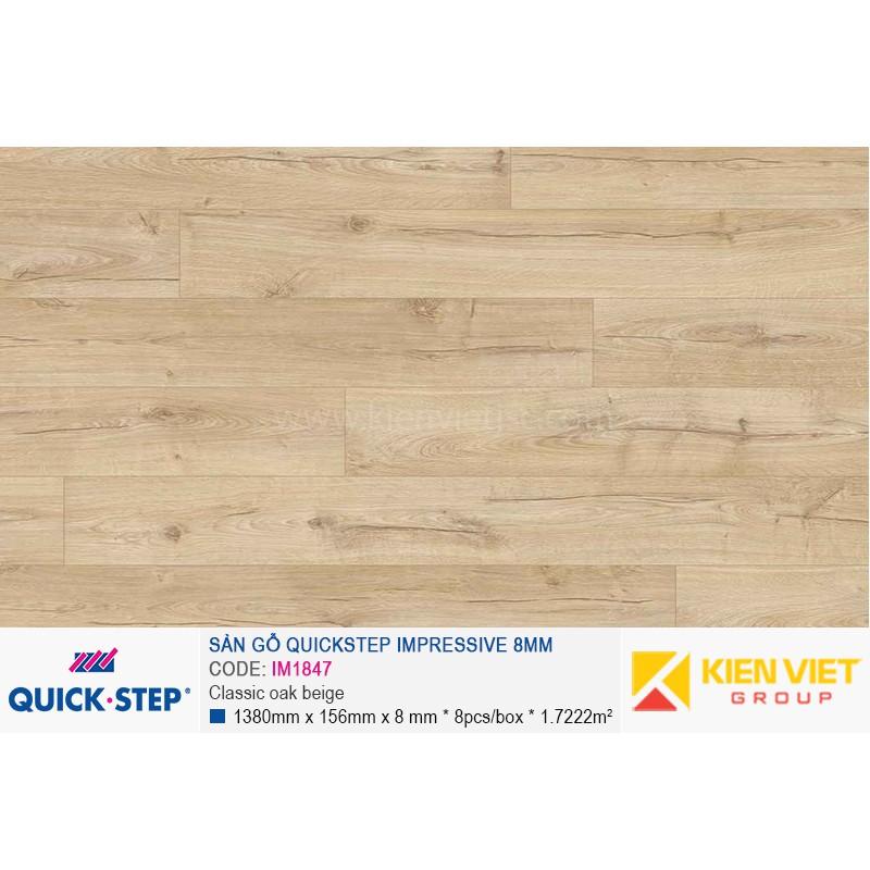 Sàn gỗ Quickstep Aligna White varnished oak U915 | 8mm