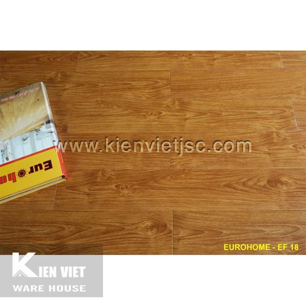 Sàn gỗ Eurohome 12mm EF18
