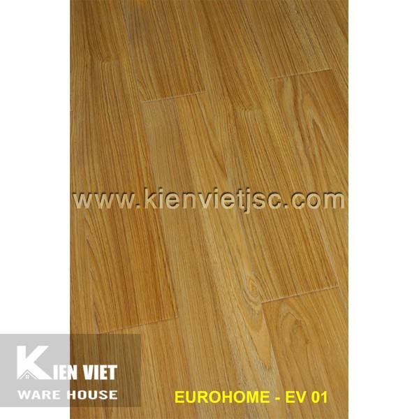 Sàn gỗ Eurohome 12mm EV01