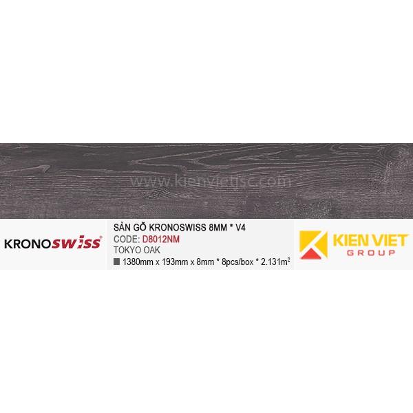 Sàn gỗ Kronoswiss D8012NM Tokyo Oak   8mm