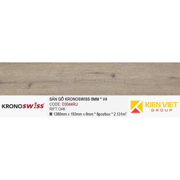 Sàn gỗ Kronoswiss D3044RU Rift Oak   8mm