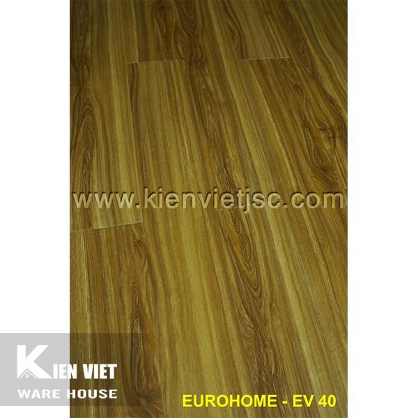 Sàn gỗ Eurohome 12mm EV40