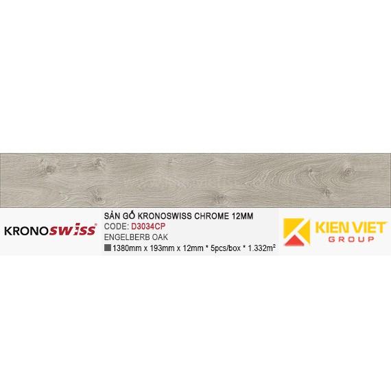 Sàn gỗ Kronoswiss D3034CP Engelberb Oak | 12mm