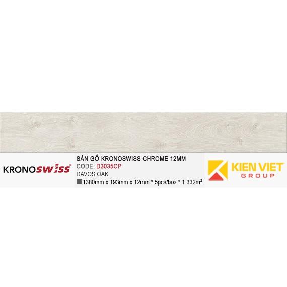 Sàn gỗ Kronoswiss D3035CP Davos Oak | 12mm