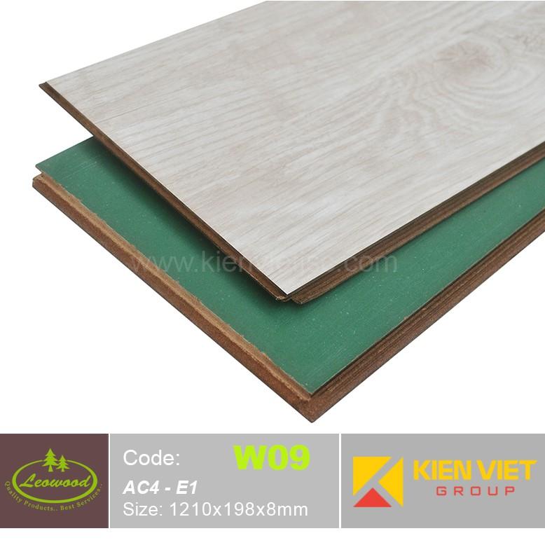 Sàn gỗ công nghiệp Thái lan Leowood W09 AC4 | 8mm