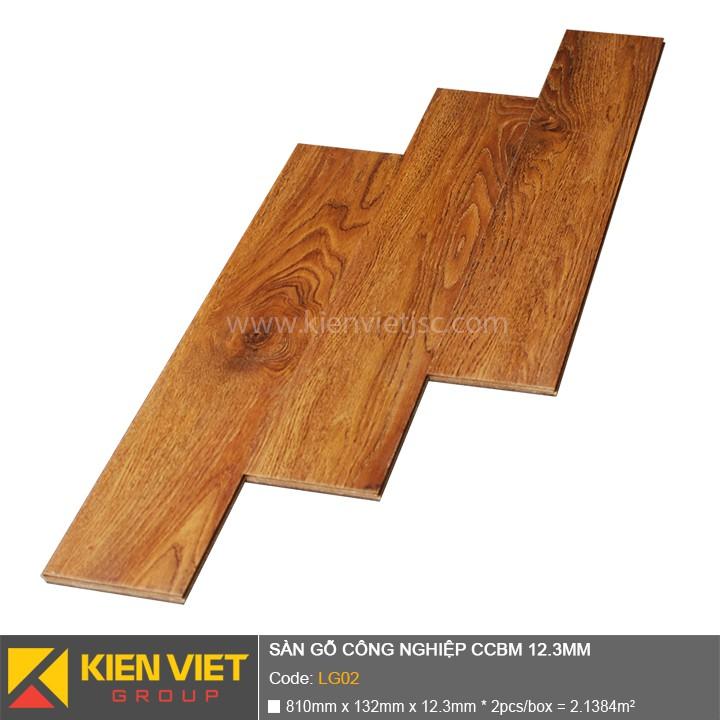 Sàn gỗ công nghiệp CCBM LG02 | 12.3mm