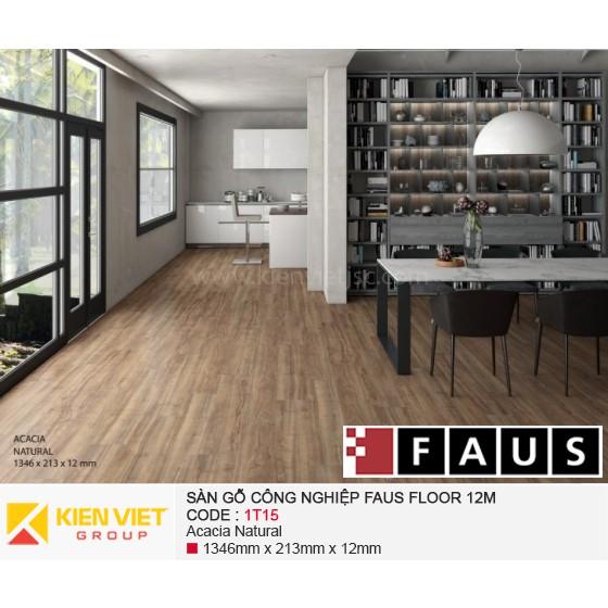 Sàn gỗ công nghiệp FausFloor 1T15 | 12mm