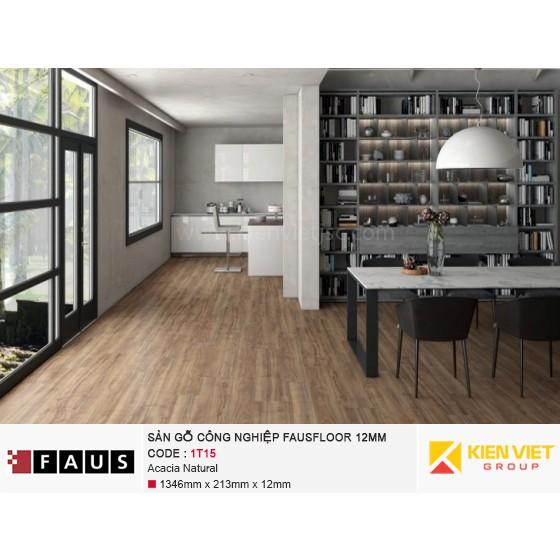Sàn gỗ công nghiệp FausFloor 1T15 Acacia Natural | 12mm