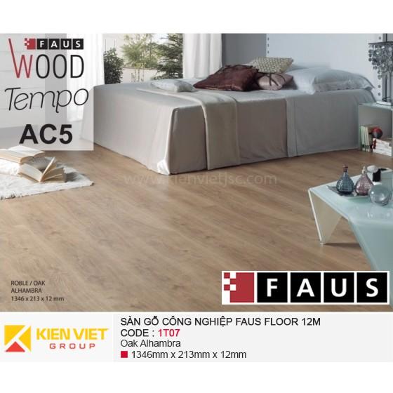 Sàn gỗ công nghiệp FausFloor 1T07 | 12mm