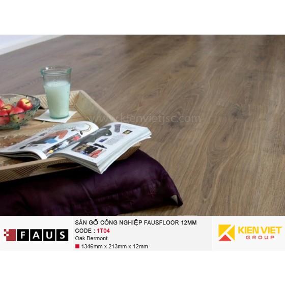 Sàn gỗ công nghiệp FausFloor 1T04 Oak Bermont | 12mm