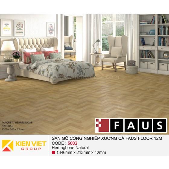 Sàn gỗ xương cá Tây Ban Nha Fausfloor 5002 | 12mm