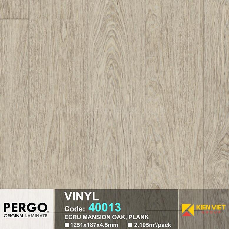 Sàn nhựa hèm khoá Pergo 40013 | 4.5mm