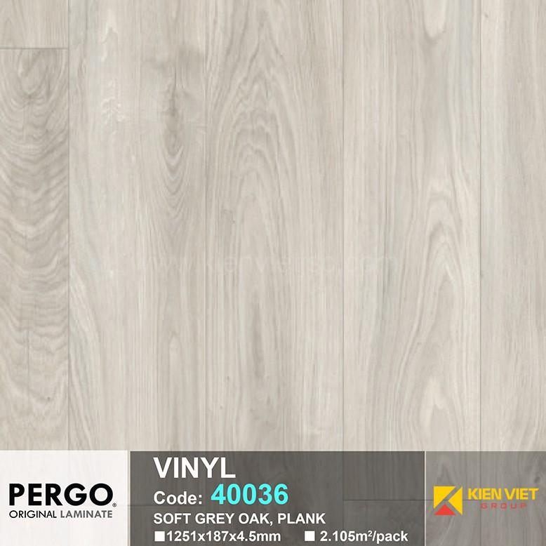 Sàn nhựa hèm khoá Pergo 40036 | 4.5mm
