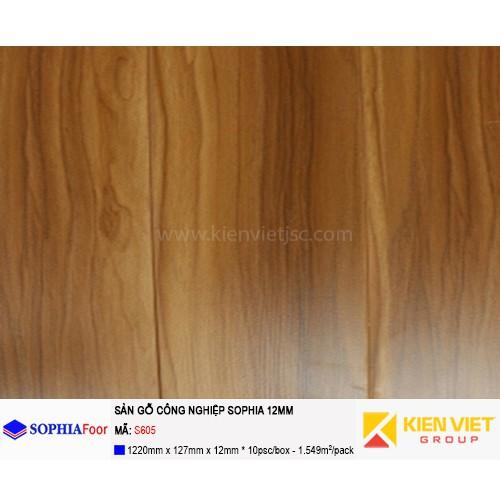 Sàn gỗ công nghiệp Sophia S605 | 12mm