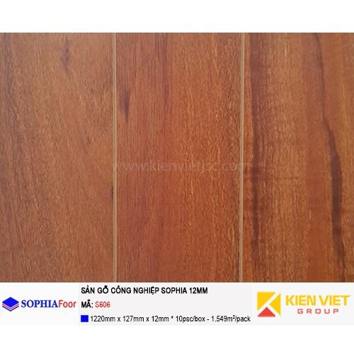 Sàn gỗ công nghiệp Sophia S606 | 12mm