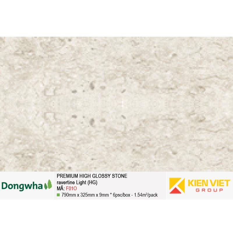 Tấm ốp tường HDF DONGWHA premium high glossy F01O
