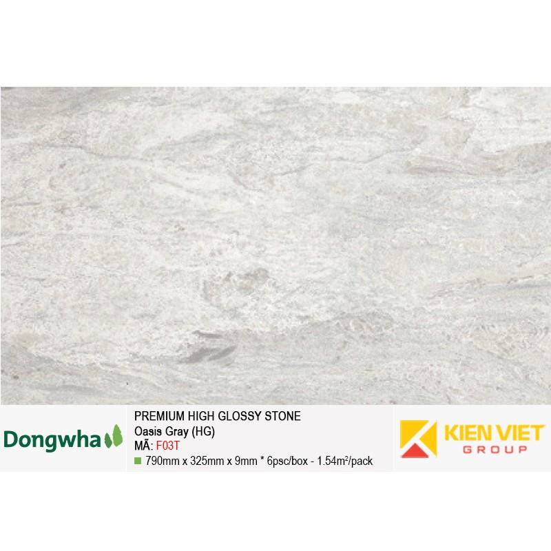 Tấm ốp tường HDF DONGWHA premium high glossy F03T