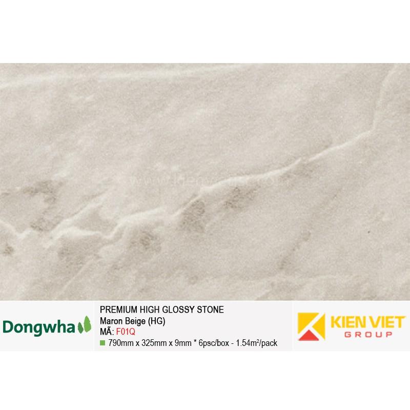 Tấm ốp tường HDF DONGWHA premium high glossy F01Q